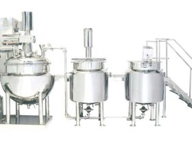 Automatic Ointment & Cream Mfg. Plant