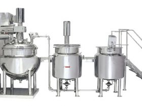 Automatic-oinemnet-cream-manufacturing-plant